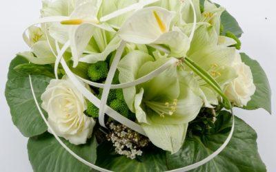 Une décoration florale de mariage réussie !