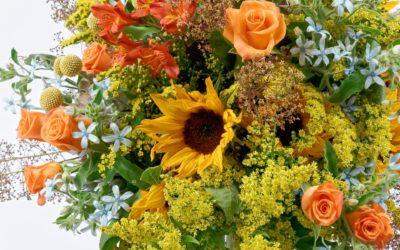 Offrir des fleurs à Woerth