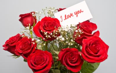 Bouquet de fleurs à Woerth pour la Saint-Valentin